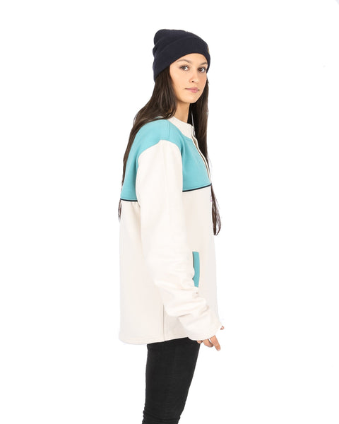 Torquay Cheater Off White / Sea Green - Yuki Threads