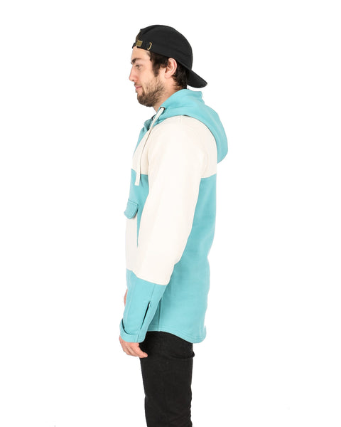 Weekend Anorak Sea Green / Off White - Yuki Threads