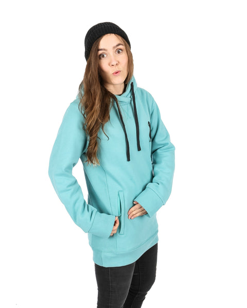 Trim Hoodie Sea Green - Yuki Threads