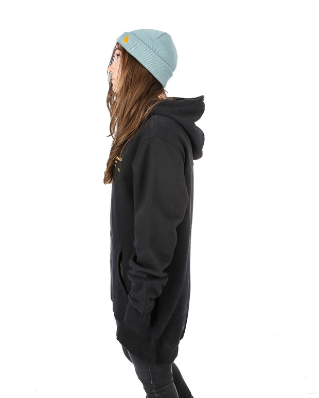 Loop Shred Hoodie Black - Yuki Threads