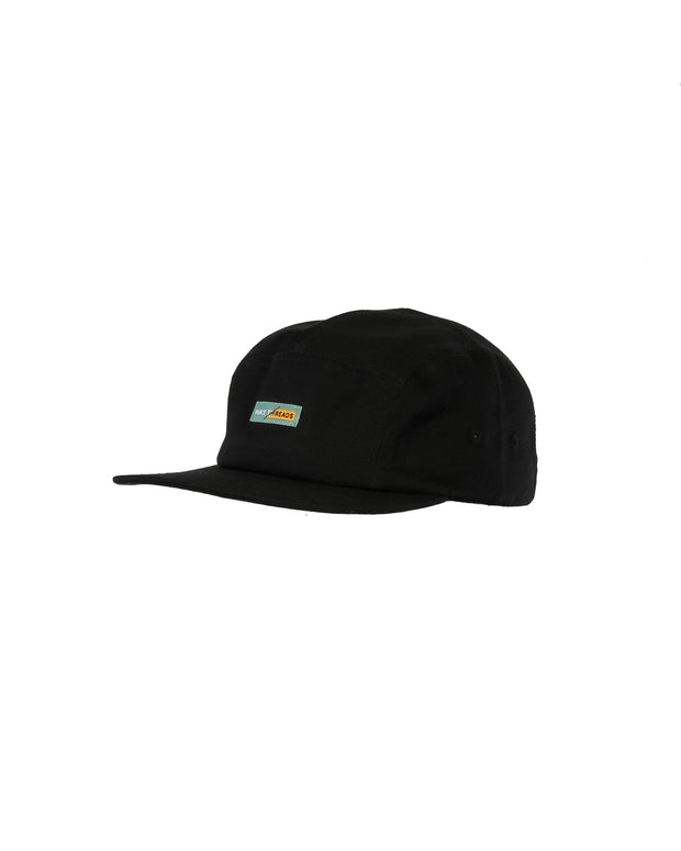 Wildcat Five Panel Black - Yuki Threads