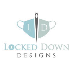 225+ Face Masks In-Stock | Locked Down Designs Logo | 100% Cotton Triple Layer Face Masks w/ Removable PM2.5 Filter and Adjustable Elastics and 3M Aluminum Nose Bridge | 100% Cotton Face Mask