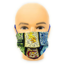Load image into Gallery viewer, HarrY Potter House Crests Face Mask | Locked Down Designs
