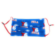 Load image into Gallery viewer, Philadelphia 76ers Retro Face Mask NBA | Locked Down Designs