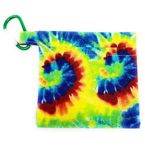 Tie Dye Face Mask Holder
