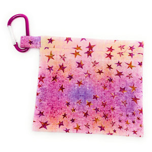 Pink Star Face Mask Holder