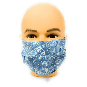 Light Blue Face Mask | Locked Down Designs