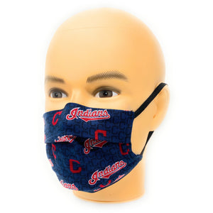MLB Cleveland Indians Baseball Face Mask | Locked Down Designs