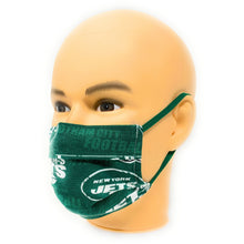 Load image into Gallery viewer, NFL NY Jets Gotham City Face Mask | Locked Down Designs