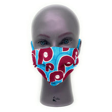 Load image into Gallery viewer, Philadelphia Phillies Retro Face Mask | Locked Down Designs