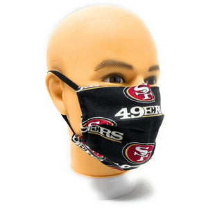 San Francisco 49ers double-layer, tight-knit cotton face mask