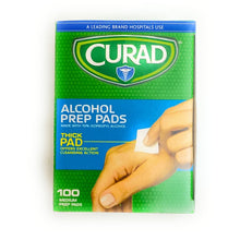 Load image into Gallery viewer, Curar Alcohol Wipes 100ct