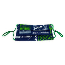 Load image into Gallery viewer, Seattle Seahawks Football Face Mask | Locked Down Designs | In Stock