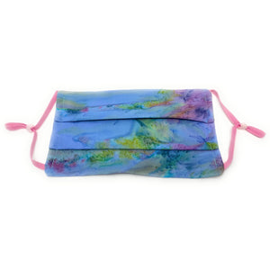 Rainbow Tie Dye Batik Face Mask | Locked DownDesigns