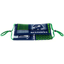 Load image into Gallery viewer, NFL Seattle Seahawks Football Face Mask | Locked Down Designs | In Stock