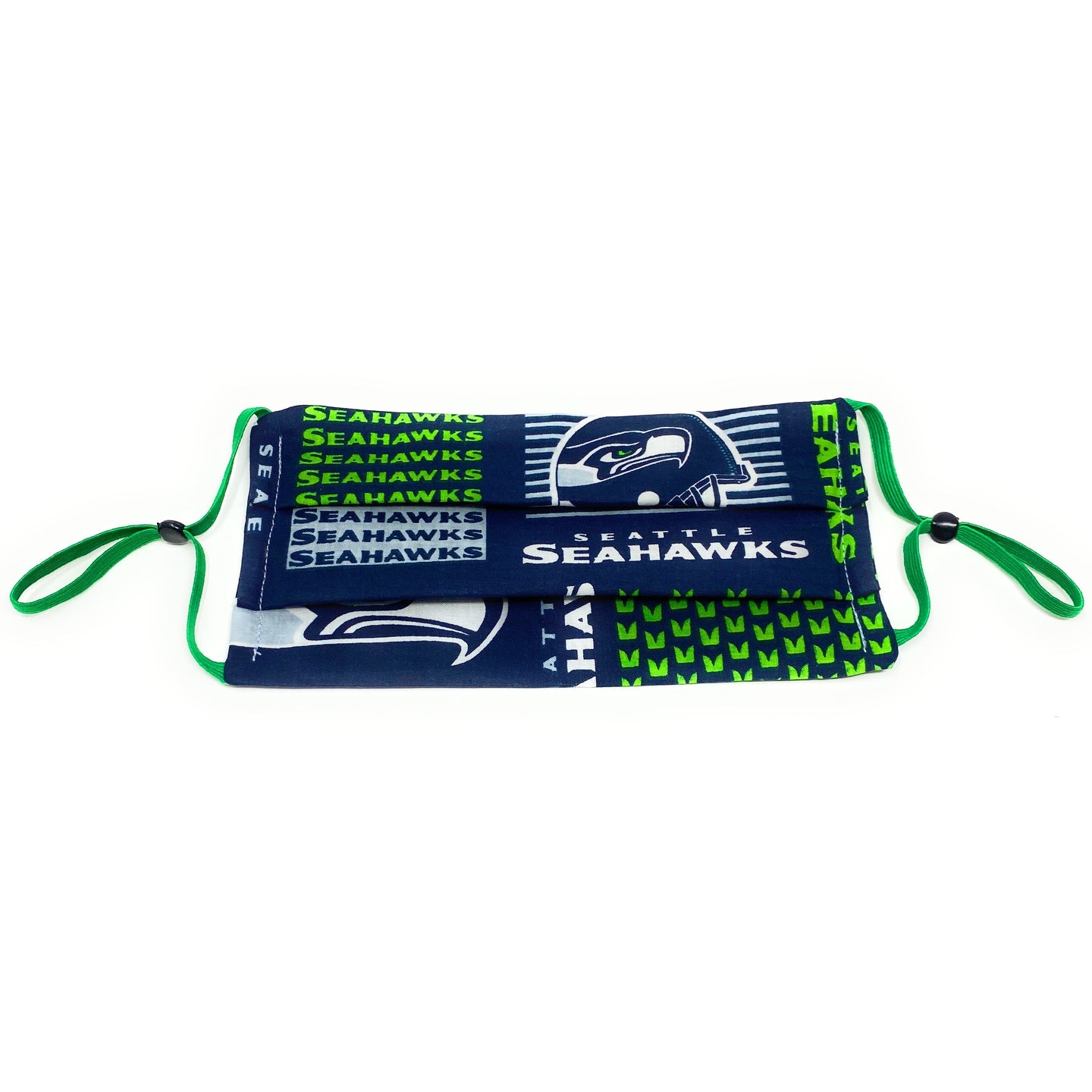 NFL Seattle Seahawks Football Face Mask | Locked Down Designs | In Stock