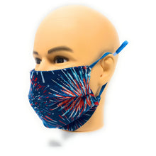 Load image into Gallery viewer, Firework Face Mask | Locked Down Designs
