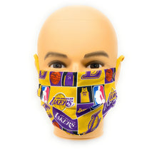 Load image into Gallery viewer, Los Angeles Lakers 24 Kobe Bryant Face Mask | Locked Down Designs
