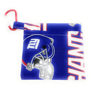 NY Giants Face Mask Holder | Locked Down Designs
