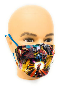 Marvels Avengers Face Mask | Locked Down Designs