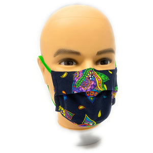 Neon Flower Face Mask | Locked Down Designs