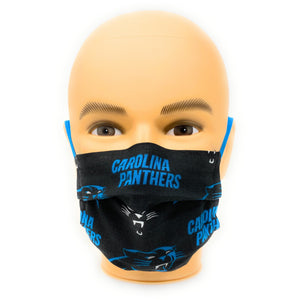 Carolina Panthers Face Mask NFL | Locked Down Designs