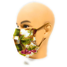 Load image into Gallery viewer, Wine Country Face Mask | Locked Down Designs