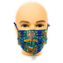 Load image into Gallery viewer, Grateful Dead Skeleton Hawk Face Mask | Locked Down Designs