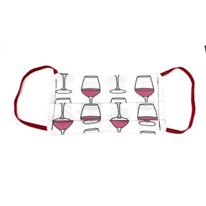 Wine Face Mask | Locked Down Designs