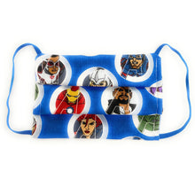 Load image into Gallery viewer, MCU Marcels Avengers Face Mask 100% Cotton Double Layer, PM2.5 Filter Included