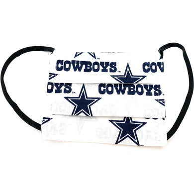 NFL Dallas Cowboys Face Mask | Locked Down Designs