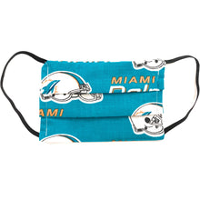 Load image into Gallery viewer, Miami Dolphins Face Mask