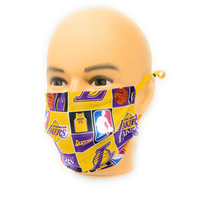 Los Angeles Lakers 24 Kobe Bryant Face Mask | Locked Down Designs