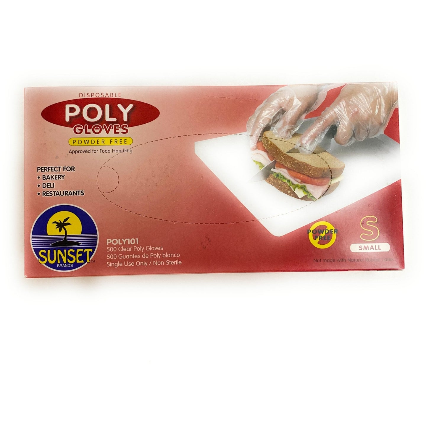 Poly Gloves 500ct