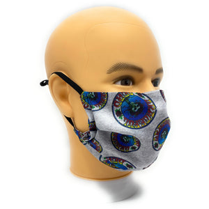 Grateful Dead Face Mask | Locked Down Designs | In-Stock