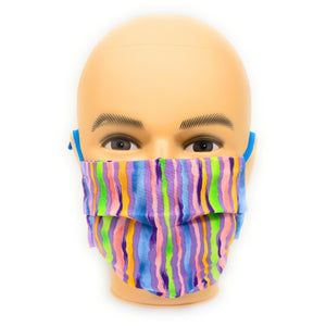 Fun Striped Mask | Locked Down Design