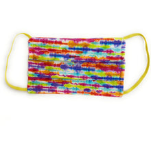 Load image into Gallery viewer, Rainbow Tie Dye Stripe Face Mask | Locked Down Designs