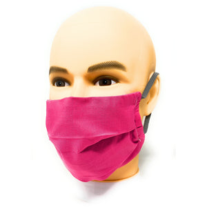 Solid Pink Face Mask | Locked Down Designs