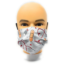 Load image into Gallery viewer, Nurse Doctor Face Mask | Locked Down Designs