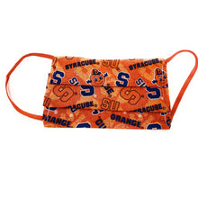 Load image into Gallery viewer, Syracuse University Orange Face Mask | Locked Down Designs