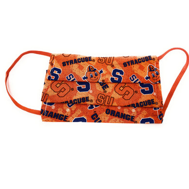 Syracuse University Orange Face Mask | Locked Down Designs