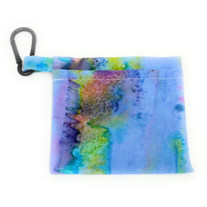 Rainbow Batik Face Mask Holder | Locked Down Designs