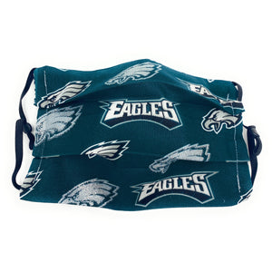 NFL Philadelphia Eagles Glitter Face Mask | Locked Down Designs