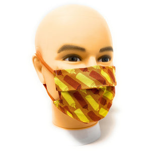 Ketchup and Mustard Bottle Face Mask | Locked Down Designs