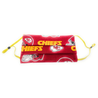 Kansas City Chiefs NFL Face Mask | Locked Down Designs