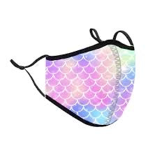 Top Trenz Mermaid Face Mask - Locked Down Designs