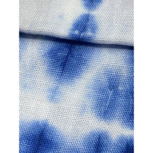 Load image into Gallery viewer, Blue and White Tie Dye Face Mask
