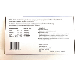 Nitrile Gloves Powder Free XL