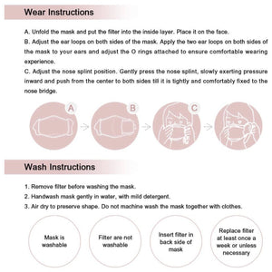 Face Mask Instructions | Locked Down Designs