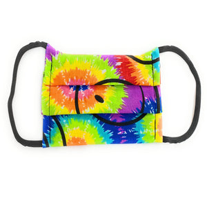 Smile Tie Dye Face Mask  | Locked Down Designs